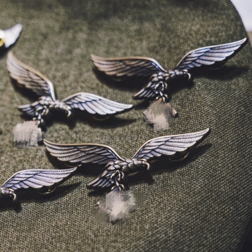 Vintage German eagle badge insignia