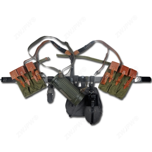 WW2 Army MP44 Canvas pouch Equipment Conbination