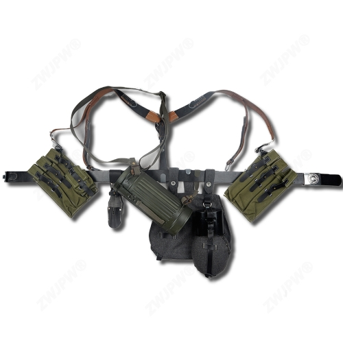 WW2 Army P38/P40 CANVAS pouch Equipment Conbination