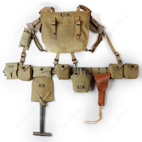 WW2 US ARMY D-DAY M1 Carbin Paratrooper Equipment