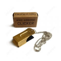 WW2 US Army Airborne CRICKET CLICKER American D-Day Para Air Force Signals