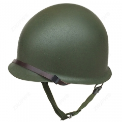 US WW2 Army Type M1 Green Seam Double Layers Helmet