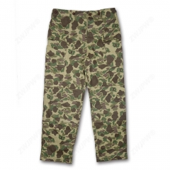 WW2 US MARINE CORPS ARMY HBT PACIFIC CAMOUFLAGE PANTS
