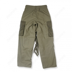 ww2 US army green outdoor M43 Windbreaker Pure cotton pants