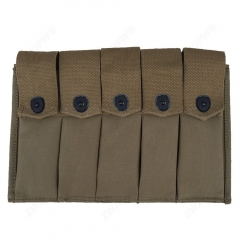 WW2 US ARMY USMC THOMPSON -5 CELL MAGAZINE POUCH US AMMO POUCH-US/41553
