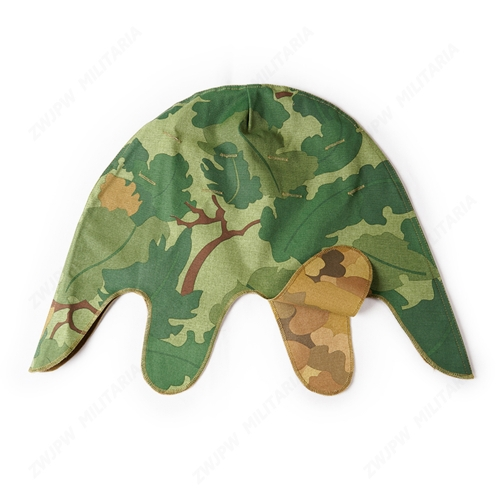 WW2  US ARMY MITCHELL HELMET COVER TWO-SIDED OUTDOOR FIELD OPERATIONS TRAVEL HELMET COVER