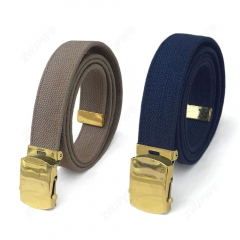 WW2 US  ARMY TYPE 65 CANVAS  Belt KHAKI AND BLUE