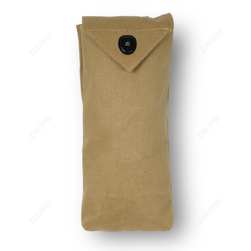 WW2 WWII US Army M1 RIGGER POUCH Garand Ammo Bag Mag Pouch Canvas KHAKI Longer Version