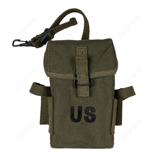 WW2 US ARMY VIETNAM WAR M1956 M14 LONG TYPE AMMO POUCH ARMY GREEN