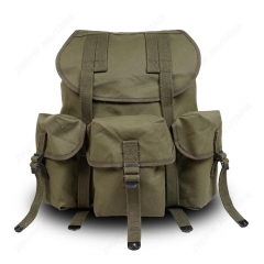 WW2 US ARMY M14 M1961 Backpack Waterfroof Canvas Backpack