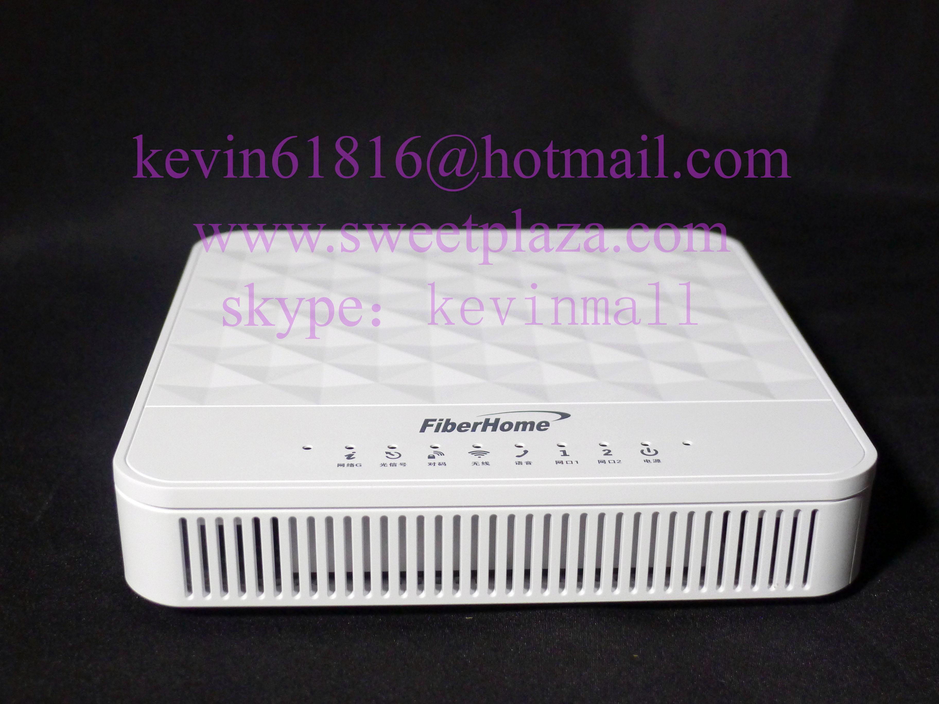 Fiberhome AN5506-02-FG GPON ONU optical network unit apply to FTTH FTTO  modems, 2 internet ports+1 phone port+wifi, white colour