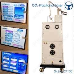 CO2 Fractional laser machine with private treatment head
