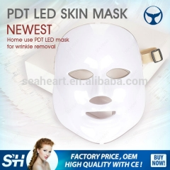 Hot sale 7 colors PDT LED skin mask