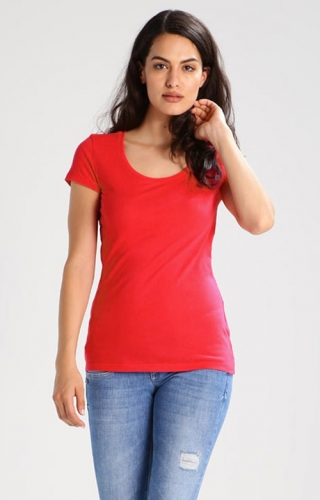 Women's slim fit base T-shirt