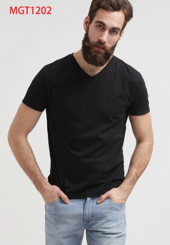 Pure Cotton T-shirt New Style in Spring and Autumn Period