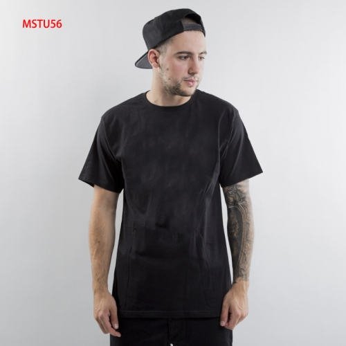 MSTU56 Men back and front letter print T-shirt