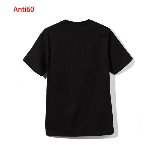 Anti60 Men and women  letter print T-shirt