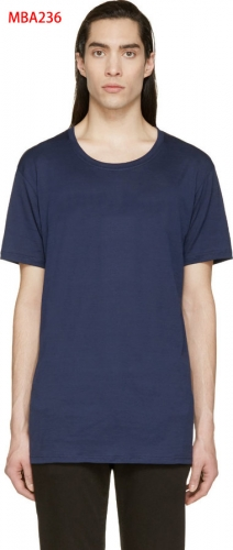 Men Cotton Crewneck Tee-MBA236