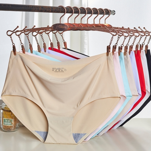 women underwear breif High elastic ice silk underwear