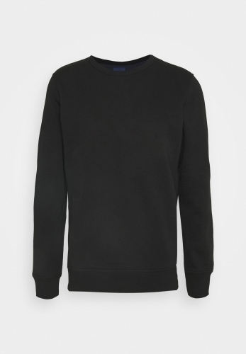 Men's embroidered velvet sweater