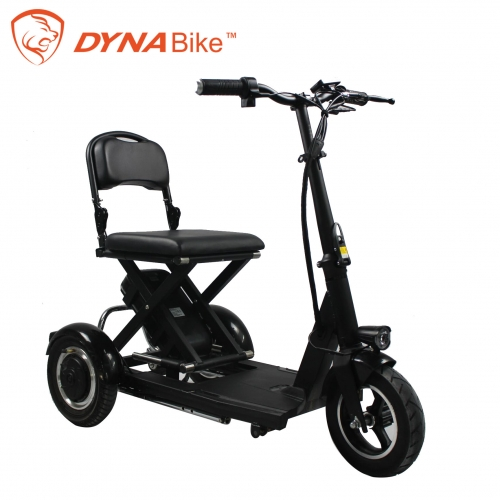 10'' foldable 3 wheel electric bicycle electric tr...