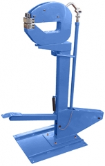 Heavy-Duty Metal Shrinker & Stretcher with stand