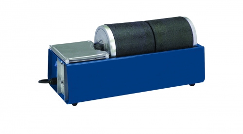 Dual Drum Rotary Rock Tumbler (120V, 60Hz)