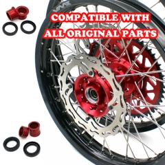 VMX MX COMPLETE WHEELS SET FOR HONDA CRF250R 2004-2013 CRF450R 2002-2012