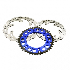 KTM OEM REAR MIXED BLUE SPROCKET FRONT AND REAR DISC SX EXC-F MXC 250