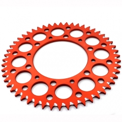 KTM CNC ALUNIMUM REAR SPROCKET ORANGE 50T SX SXF EXC-F XCW-F