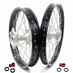VMX MX WHEELS SET 21/19 FOR HONDA CRF250R 2004-2013 CRF450R 2002-2012