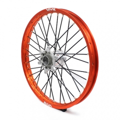 VMX FRONT CASTING WHEEL FOR KTM SX SX-F 125 200 450 525 1.6*21 ORANGE