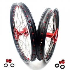 VMX MX CASTING WHEELS SET 21/19 FOR HONDA CRF250R CRF450R 2020 RED