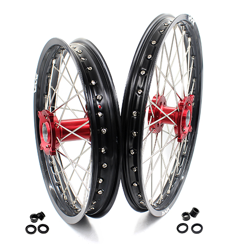 VMX 21/18 WHEELS SET FOR HUSQVARNA TE/TC/TXC/SMR 2000-2013