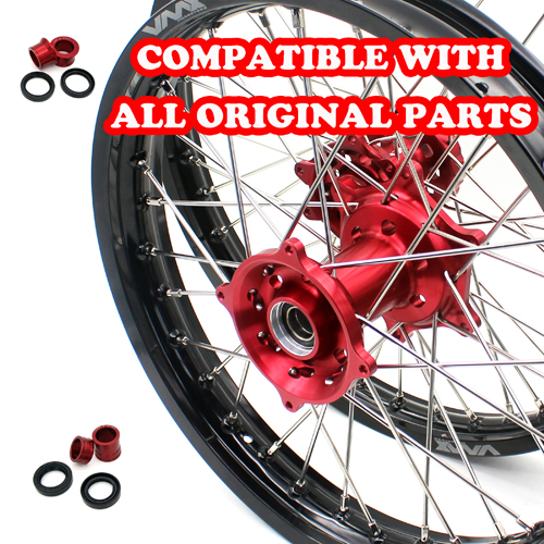 VMX  WHEELS SET 21/18 FOR HONDA CRF250R CRF450R 2012