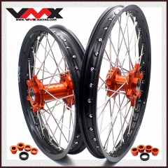VMX ENDURO WHEEL SET FOR KTM EXC XCW-F 200 300 400 21/18 2003-2020