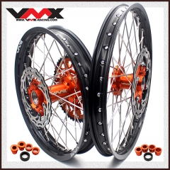 VMX ENDURO COMPLETE WHEELS SET 21/18 FIT KTM EXC XCW-F 250 300 400 2020