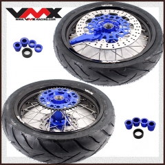 VMX SUPERMOTO WHEELS WITH TIRE FOR HUSQVARNA TE TC FE FC 250 450