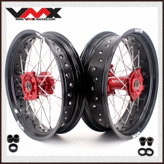 VMX SUPERMOTO WHEELS RIMS SET FOR HUSQVARNA TE/TC/TXC/SMR