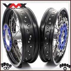 VMX COMPLETE SUPERMOTO CASTING WHEELS FOR YAMAHA YZ250F YZ450F YZ125 YZ250 DISC