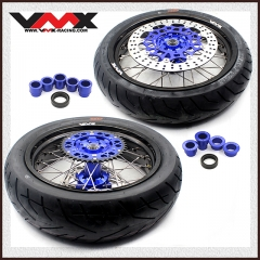 VMX SUPERMOTO WHEELS WITH CST TIRE FOR YAMAHA YZ250F/450F YZ125/250