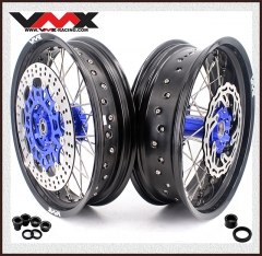 VMX 3.5/5.0 COMPLETE SUPERMOTO WHEELS FOR YAMAHA YZ250F/450F YZ125/250 DISC