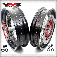 VMX COMPLETE SUPERMOTO CASTING WHEELS SET FOR HONDA CRF250R CRF450R 2019