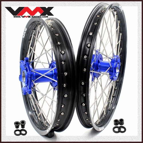 VMX 21/18 ENDURO WHEELS RIMS FOR DRZ 400E 400S 400SM 2000-2020