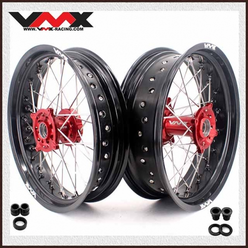 VMX 3.5/5.0 Supermoto Wheel Rim Set Fit HUSQVARNA TE/TC/TXC/SMR