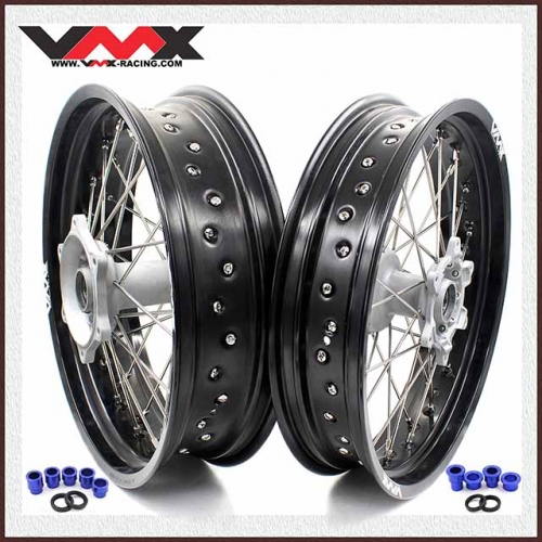 VMX 3.5/5.0 Motorcycle Supermoto Casting Wheels Fit YAMAHA YZ250F YZ450F YZ125 YZ250 2020