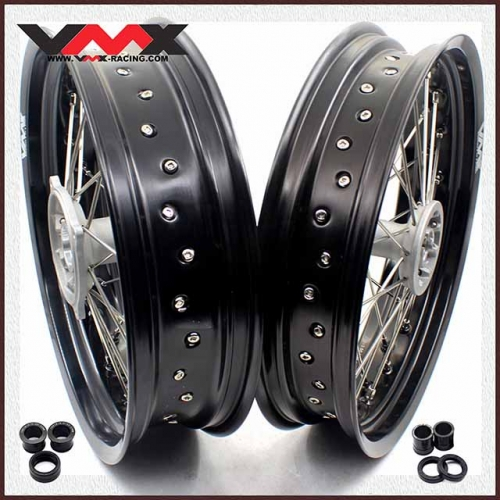 VMX 3.5/4.25 Supermoto Casting Wheels Rim Fit HONDA CRF250R CRF450R 2020