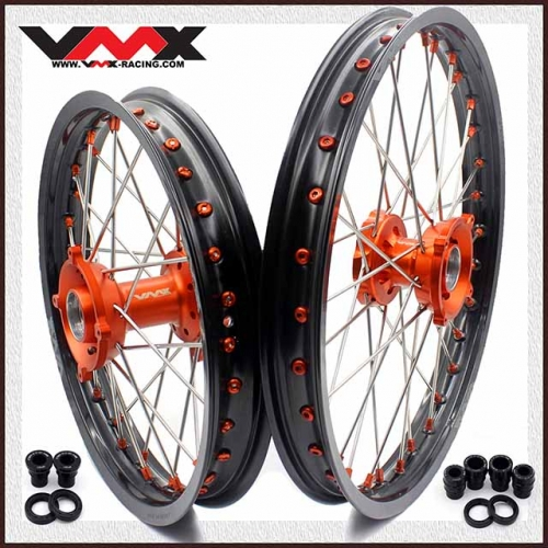 VMX 19/16 Kid's Big Wheel Fit KTM  SX 85  Orange Nipple