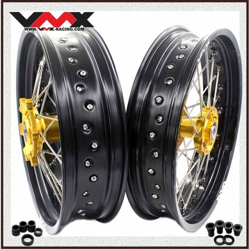 VMX 3.5/5.0 SUPERMOTO WHEELS FOR SUZUKI RM 125 250 2000-2008