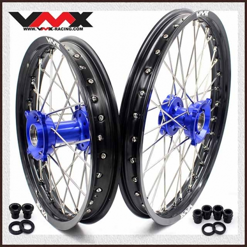 VMX 19/16  Kid's Big Wheel Fit HUSQVARNA TC85 Blue Hub